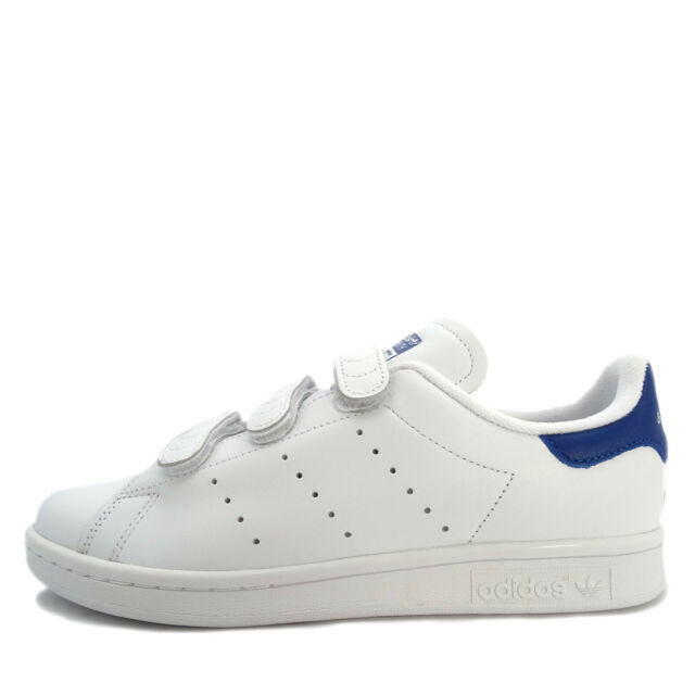 huge selection of 0731f 63330 Adidas Originals Stan Smith CF [S80042] Men Casual Shoes White/White-Blue