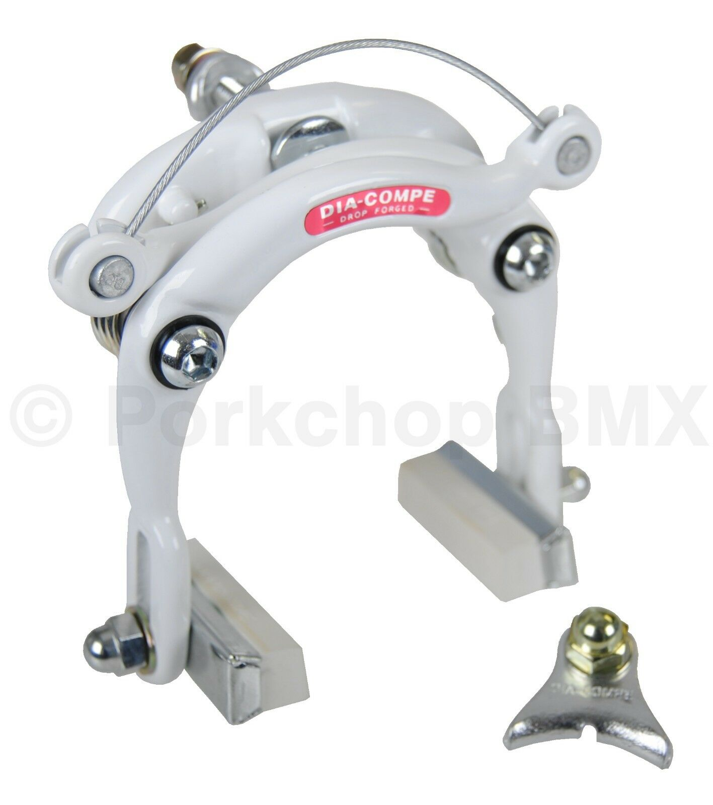 Dia-Compe old school BMX reissue 750 center  pull bicycle brake caliper WHITE  offering store