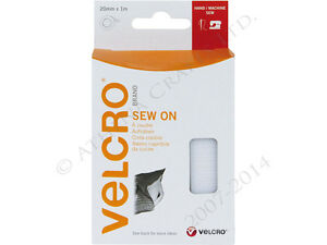 VELCRO-WHITE-SEW-ON-TAPE-1-METRE-ROLL-x-20mm-60298-FOR-HAND-OR-MACHINE-SEWING