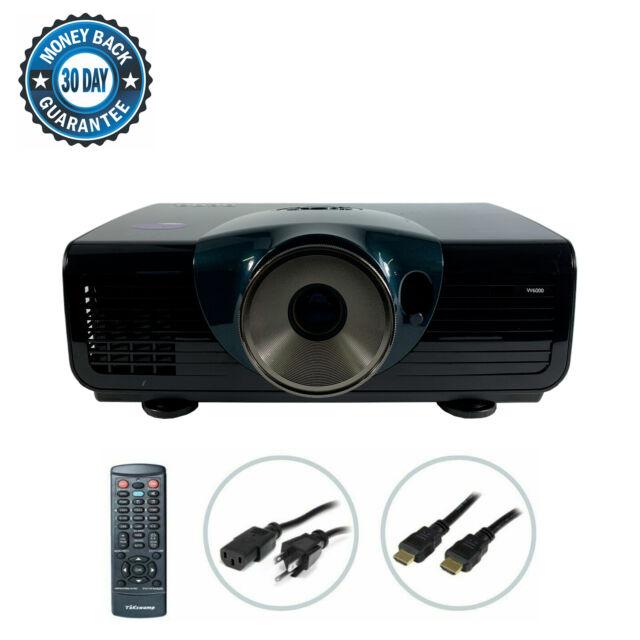 BenQ W6000 DLP Projector HD 1080P Home Theater 1920x1080 HDMI w/Accessories