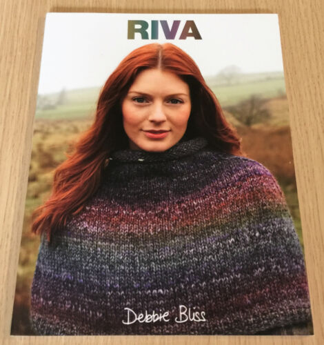 Debbie Bliss RIVA Knitting Pattern Book 11 Designs in Colour Shaded Yarn