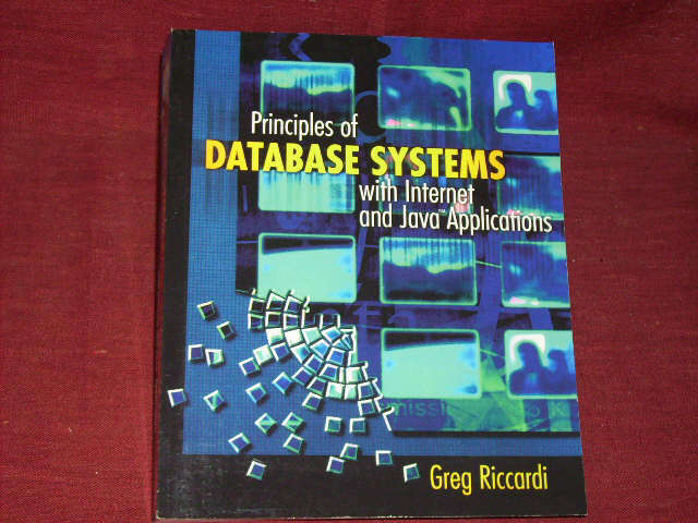 Gregory Riccardi, Supplement: Principles of Database
