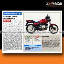 ★ BMW R 100 R & MYSTIC ★ 1995 Essai Moto / Original Road Test #c493