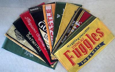 Bar Towel - Choose your Towel! - Pub Collectible - Branded Beer Decor Display