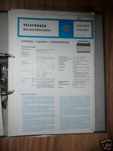 Service Manual Telefunken Picnic 201 Radio,original Tv, Video & Audio
