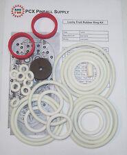 1975 Zaccaria Lucky Fruit Pinball Machine Rubber Ring Kit