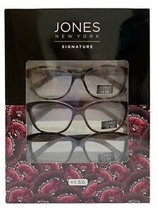 3-Pack-New-Jones-New-York-Signature-Reading-Glasses-Tortoise-Brown-Black-1-50
