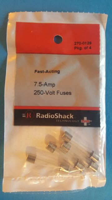 PACK OF 10 12V 24V VOLT 7.5A AMP BROWN STANDARD BLADE FUSES KIT CAR VAN MARINE