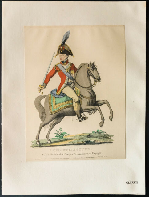 1926 - Litografia Maréchal Wellington - Maresciallo Wellington
