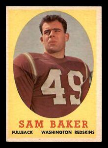 SAM-BAKER-1958-TOPPS-1958-NO-34-EXMINT-22687
