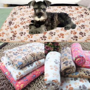 Small-Large-Puppy-Warm-Pet-Mat-Patterned-Cat-Dog-Fleece-Blanket-Bed-Cushion-Mats