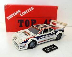 Top-43-1-43-Scale-diecast-0071-BMW-M1-Meisterfoto-Le-Mans-car