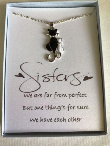 Love Heart Pendant Necklace w// poem for Sister//Friend