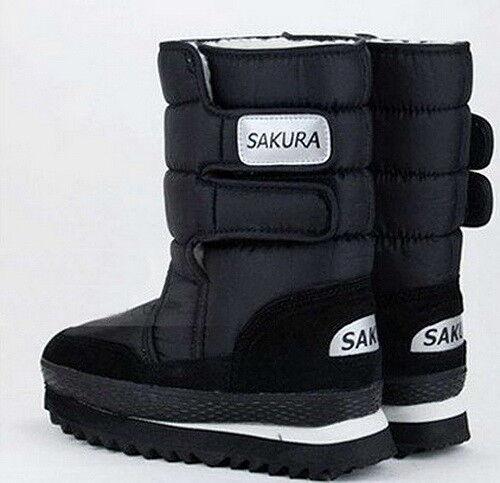 Fashion Femmes Filles Hiver Doublure Chaude Neige Pantalon De Survêtement Bottes de neige Boot ( 10 Couleurs )