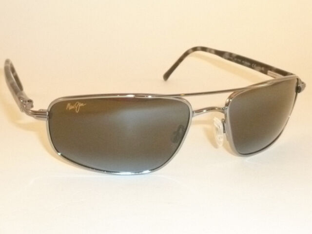 c866ff48b0 Brand NEW Authentic Polarized MAUI JIM KAHUNA Sunglasses Gunmetal Frame  162-02 for sale online
