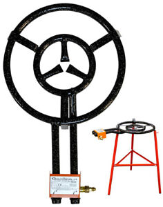 Paella-Burner-16-034-diameter-by-Garcima-Imported-from-Spain-Stand-Not-included
