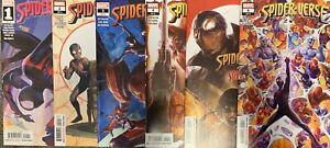 2020-Spider-Verse-1-6-Complete-Set-1-2-3-4-5-6-Miles-Morales