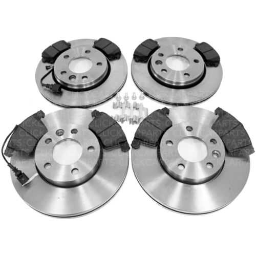 VW Transporter T5 1.9 Tdi 2.5 2003-2009 Front /& Rear Brake Discs And Pads New
