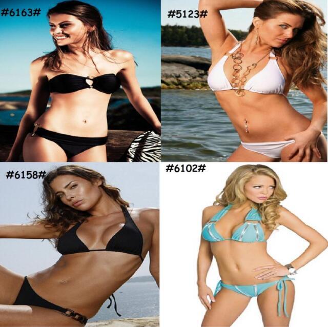 Sexy Push-up Padded Halter Neck Womens Bikini Set Swimsuit Beach Wear Swimwear