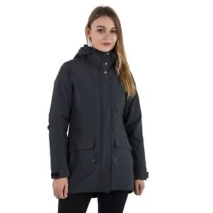 Trespass-Womens-Parka-Waterproof-Rain-Jacket-Coat-with-Hood-amp-Fleece
