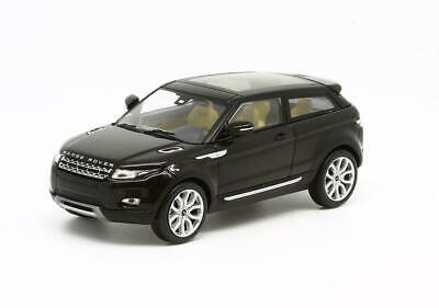 1//43 IXO Range Rover Evoque Santorini Black Silver Trim Beige Int Diecast Model