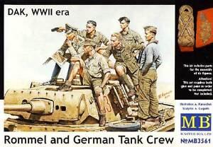 Masterbox German tank crew Deutsche Panzerbesatzung 1:35 Modell-Bausatz NEU kit