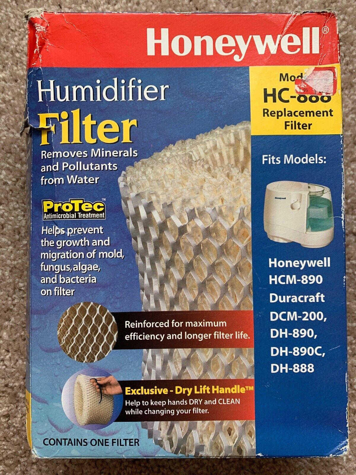 HONEYWELL HC 888 HUMIDIFIER FILTER, DURACRAFT, GENUINE, NEW NOS
