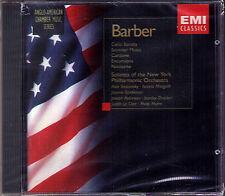 Samuel BARBER Cello Sonata Summer Music Excursions Canzone Pas de deux EMI CD