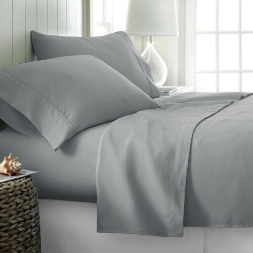 """100/% EGYPTIAN COTTON EXTRA DEEP FITTED SHEET 16/"""" DROP 40CM FIT IN ALL SIZES"""