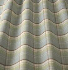 iliv Lana Art Deco Tartan Cornflower Curtain Fabric Lounge/Dining Room etc