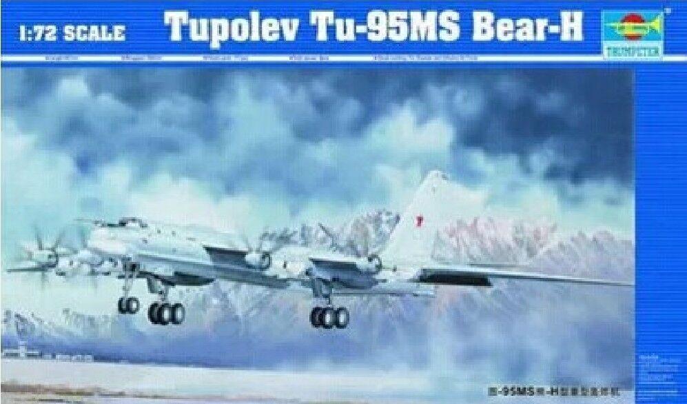Trumpeter 1 72 01601 Tupolev Tu-95MS Bear-H