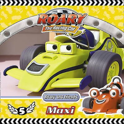 """""""AS NEW"""" Roary the Racing Car – Roary and Friends: Maxi, Archer, Mandy, Book"""