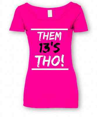 "Women's ""THOUGHS"" SHIRT IN RETRO JORDANS HE GOT GAME 13 HYPER PINK GS COLORWAY"
