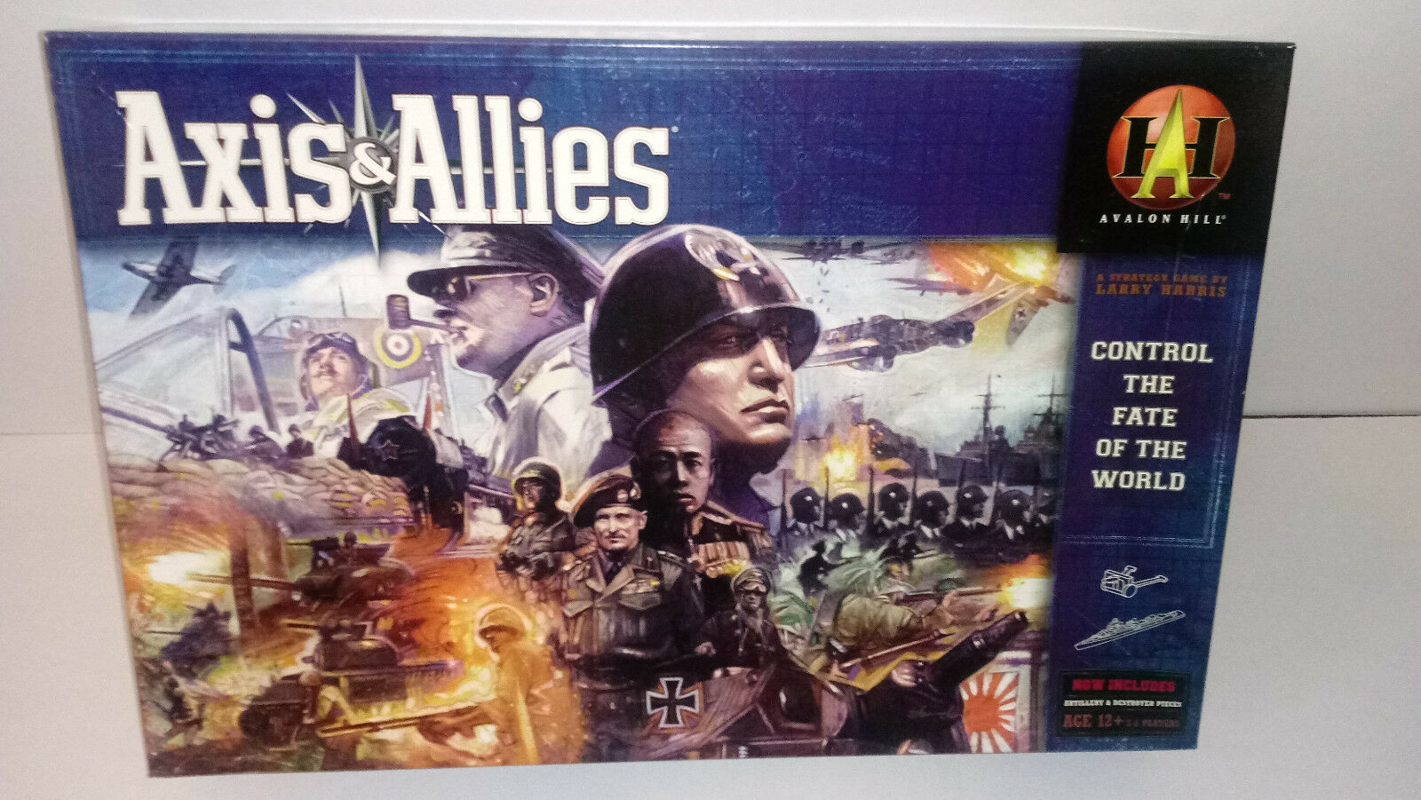 Avalon Hill Axis & Allies controlar el destino del mundo boardJuego