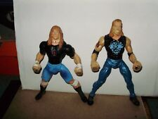 WCW DDP and Raven Action Figure Lot WWE Diamond Dallas Page LOOSE ELITE RARE MIN