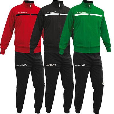 Apprensivo Completo Tuta Sportiva Givova One Full Zip Vari Colori Sport Relax Unisex Uom... Lasciamo Che Le Nostre Merci Vadano Al Mondo