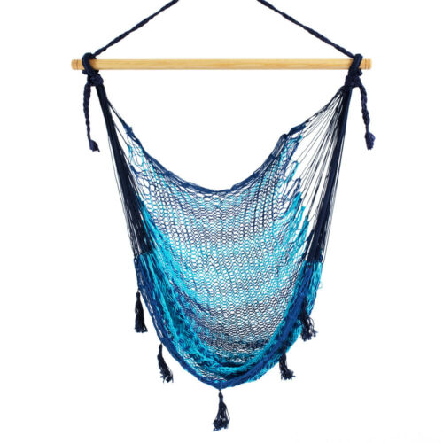 Genuine Mayan Hammock Chair Made in Mexico Outdoors Hanging Swing Chair Cotton