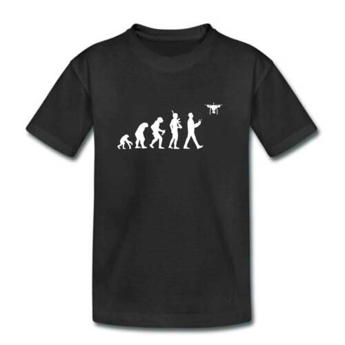 Kids DRONE Evolution T Shirt Childrens Quadcopter Toy Boys Girl Top Clothing