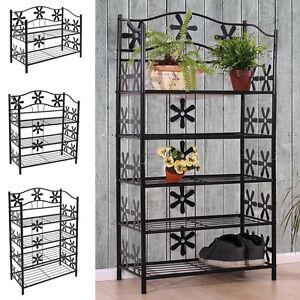 metall regal b cherregal schuhregal standregal badezimmer. Black Bedroom Furniture Sets. Home Design Ideas
