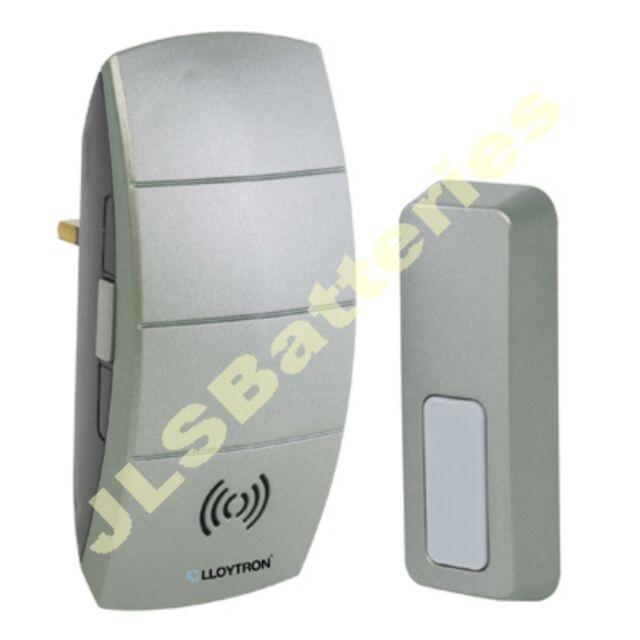 Wireless PLUG IN Door Bell Chime 100m Range Portable vol control inc batteries