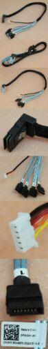 Genuine Dell Amphenol SFF8087 Reverse Right Angled to 4xSATA Cable 48cm HYJ6G