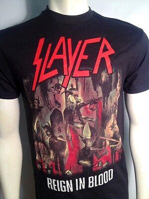 Slayer T-shirt Reign in Blood Men/'s Black