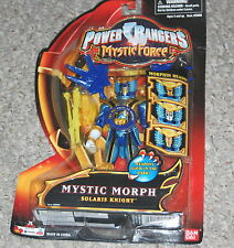 POWER RANGERS MYSTIC MORPH SOLARIS KNIGHT Figure NEW Bandai