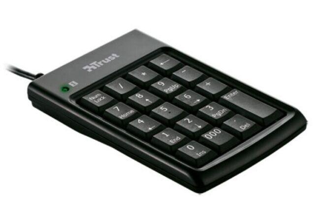 Trust KP-1200p Numerico Tastiera & USB Hub