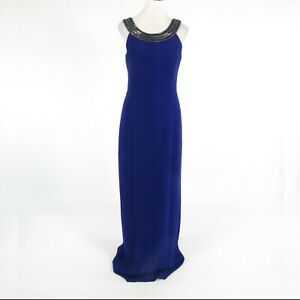 Dark-bluish-purple-BADGLEY-MISCHKA-beaded-trim-sleeveless-maxi-dress-6