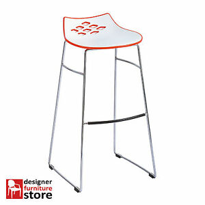 Replica-Dondoli-amp-Pocci-Jam-Bar-Stool-White-amp-Red