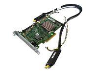 Dell PowerEdge Server PERC 6/I SAS SATA RAID PCI-E Controller Card +Cables T774H