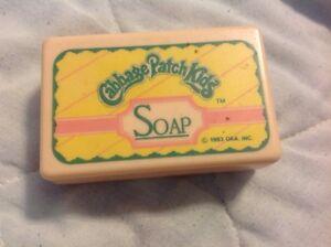 Vintage-cabbage-patch-kids-soap-box-bath-1983-Plastic