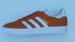 Leather Original Trainer Casual bianco New Orange Boys Gazelle Adidas Burnt Retro Scarpa Bb5485 Mens 4fxFavqw