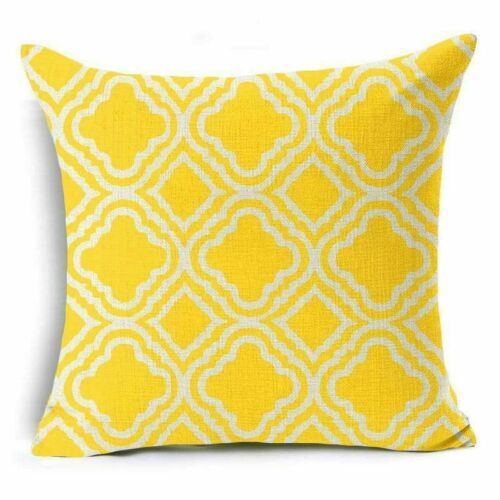 Bohemian Ethnic Geometric Cotton Linen Pillow Case Square Cushion Cover